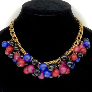 Jewelry - Multicolor Chunky Ball Beaded Statement Necklace